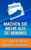 De-Minimis Depesche - Der Newsletter zum Förderprogramm